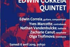 Edwin Correia Quintet